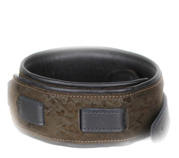 Leathergraft Deluxe Padded Brown Snake