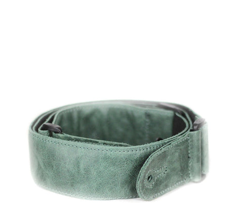 Leathergraft Adjustable Green Leather