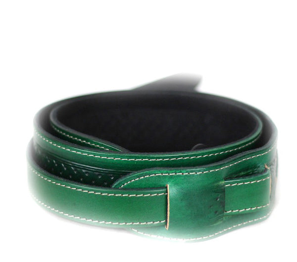 Leathergraft Embossed Green Leather
