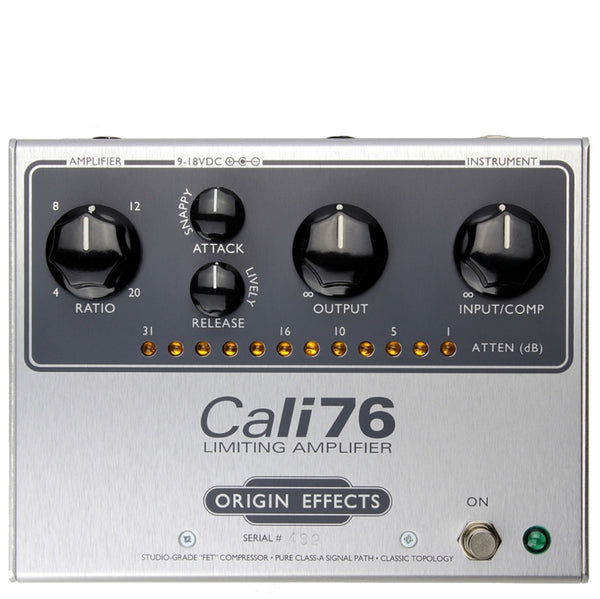 Origin Effects Cali76-TX Limited Edition Compressor - Iron Core