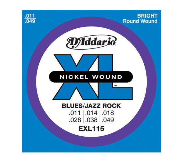 D'Addario EXL115 Blues /Jazz Rock