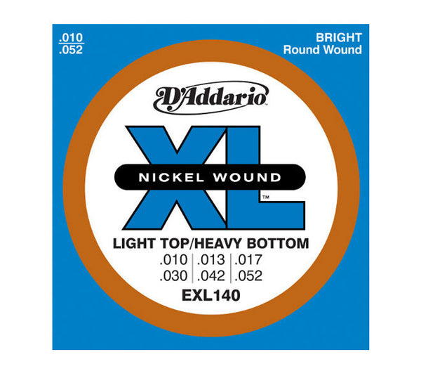 D'Addario EXL140 Light Top/ Heavy Bottom