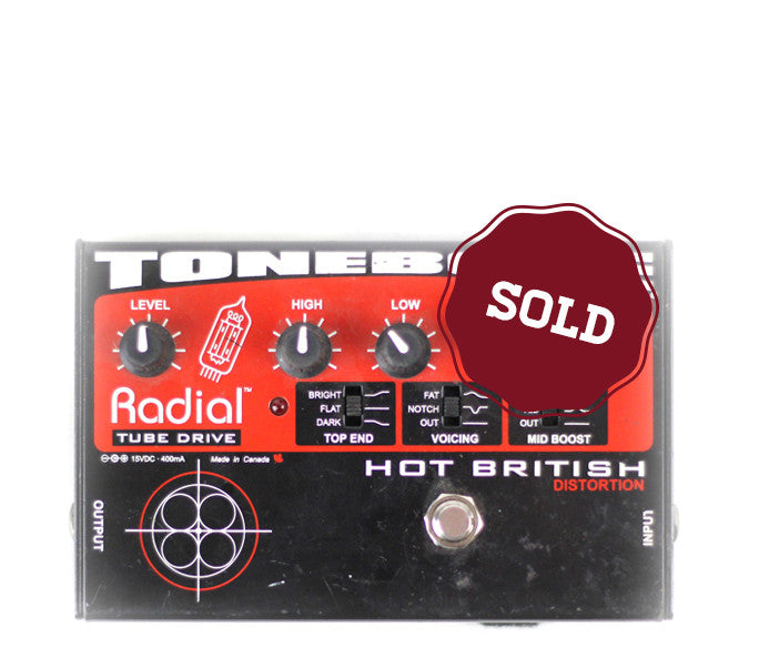 Used Radial Tonebone Hot British