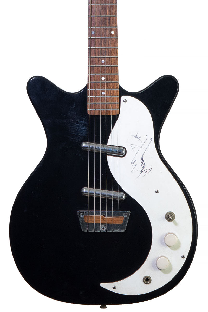1990 Jerry Jones Shorthorn signed by Jimmy Page