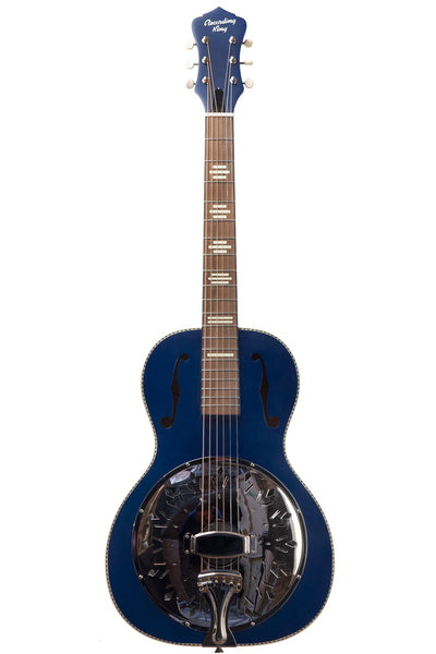 Recording King Dirty 30s Single 0 Resonator - Wabash Blue