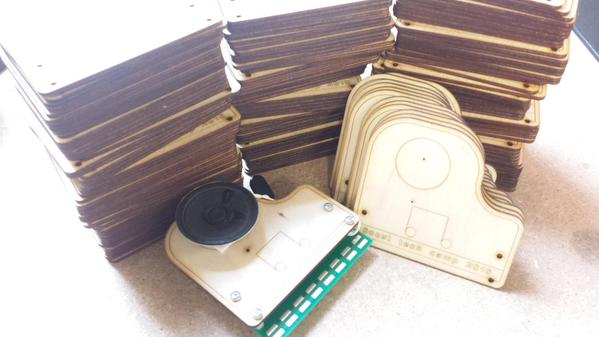 Piano Mounting Laser Cutter File for Xylophone Kit
