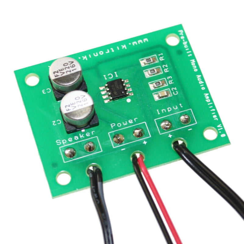 New Product Update: Pre-built MP3 Mono Amplifier (V2.0) and Conductive Ribbon