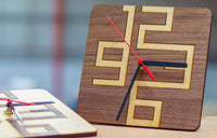 Stylish and Simple Clock Designs for Your Laser Cutter