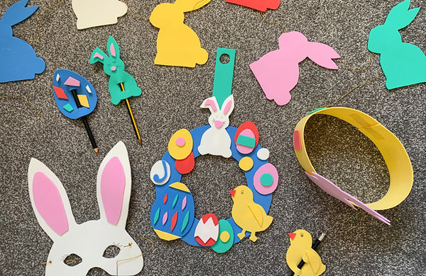 5 Easter Craft Ideas Using Polyethylene Foam Sheets