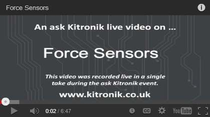 Video Force Sensors