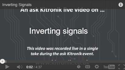 Video Inverting Signals