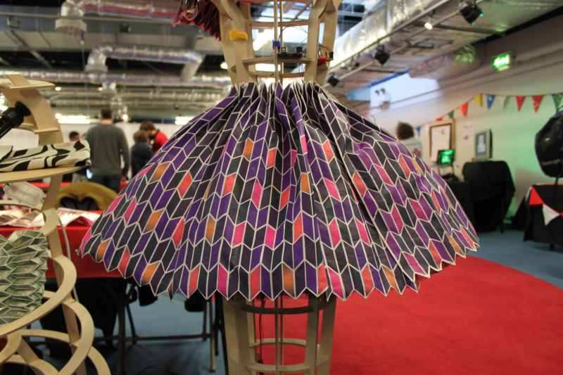 Allenomis Enter The Fold Bring Their Responsive Textiles Designs to Maker Faire UK