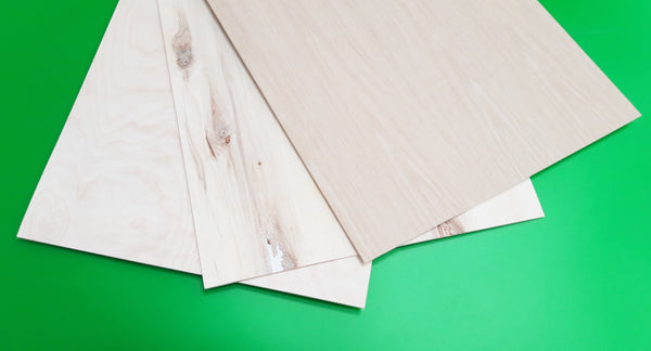 Plywood grades (laserply)