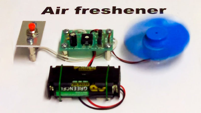Video Air Freshener Project Kit Demo