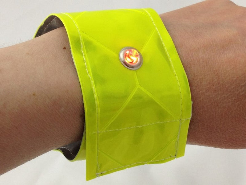 How to Make a 'Be Seen, Be Safe' Armband