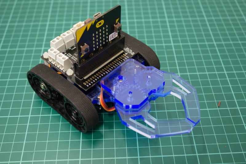 Build a micro:bit controlled Zumo buggy