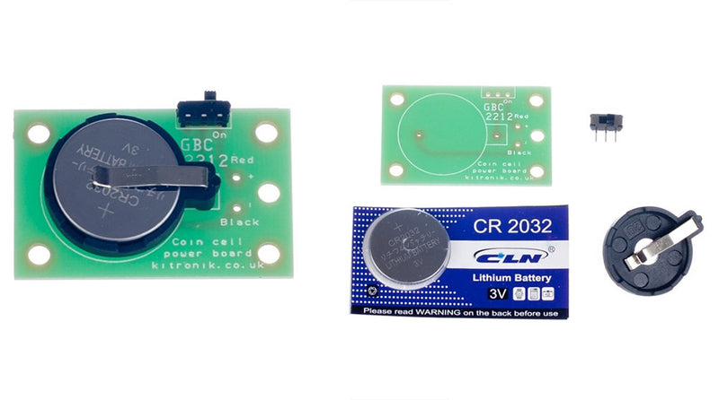 Video Coin Cell Power Board & Vibrating Motor featured image