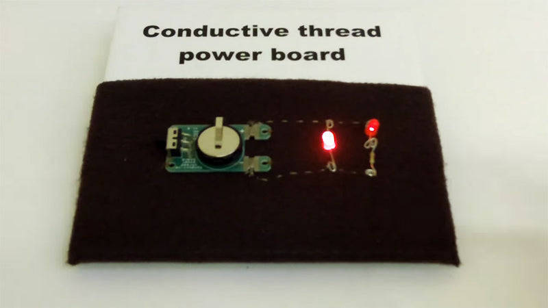 Video Conductive Thread Demo