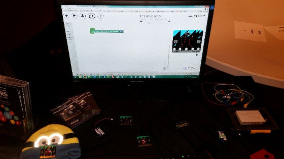 BBC micro:bit at the iCSAT National Conference