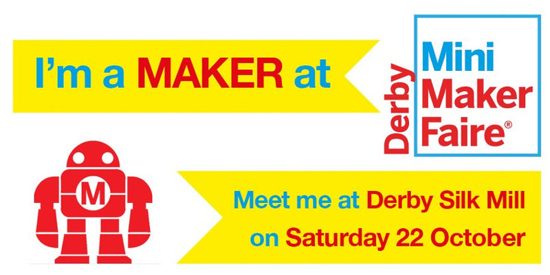 Kitronik Going To The Derby Mini Maker Faire 2016
