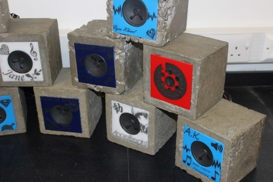 Guest Post: Dixons Trinity Academy Product Design Build Concrete Speakers