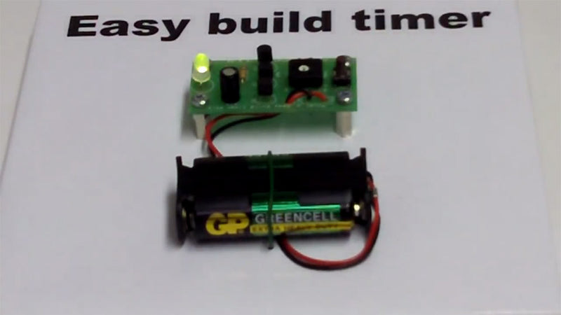 Video Easy Build Timer Demo