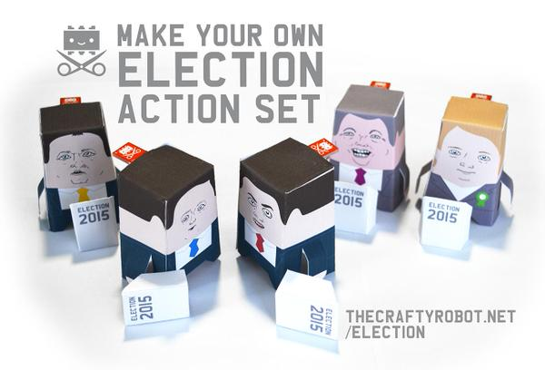 Featuring: Kitronik's Fizzbit Module Election Action Set!