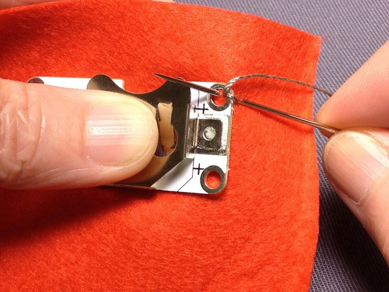 Getting Started with E-Textiles: Basic Stitches