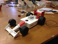 Gallery F1 Race Car Radio - Whitchurch High School in Cardiff