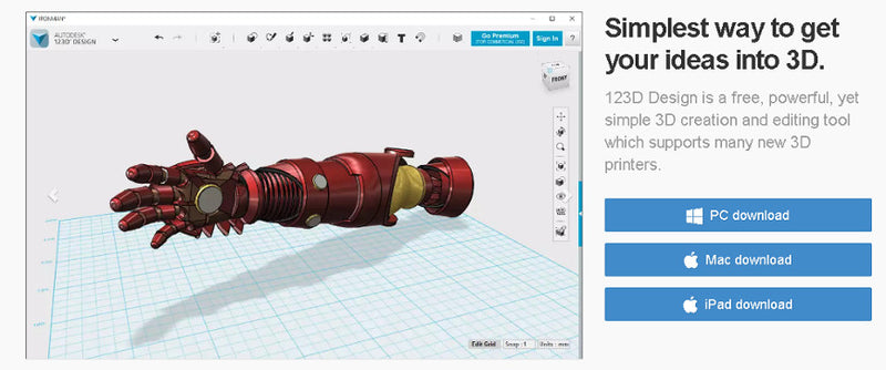 An Introduction To 3D Design In 123D Design