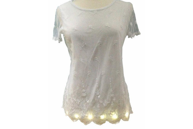 How to Individualise a T-shirt with Sewable LEDs