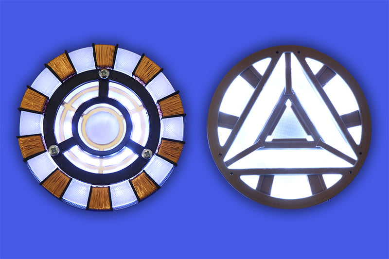 microbit Powered Halo-ween Ironman Arc Reactor