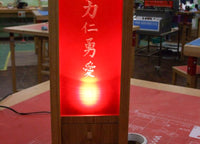 Gallery Chinese Lantern Lamp and Aroma Fan - Meole Brace School featured image