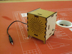 Gallery Laser Cut MDF MP3 Amplifier - Meole Brace School