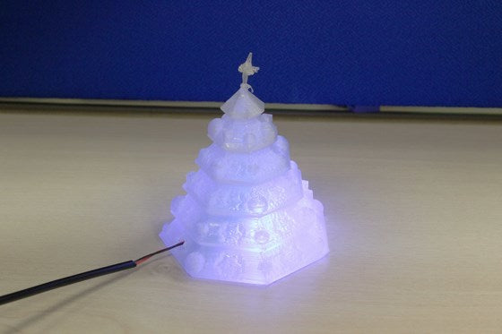 How to Make a 3D Printed LED Christmas Tree