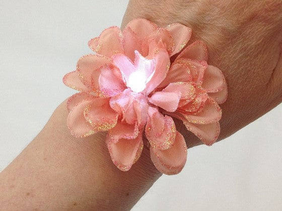 How to Make an LED Flower Power Hair Accessory