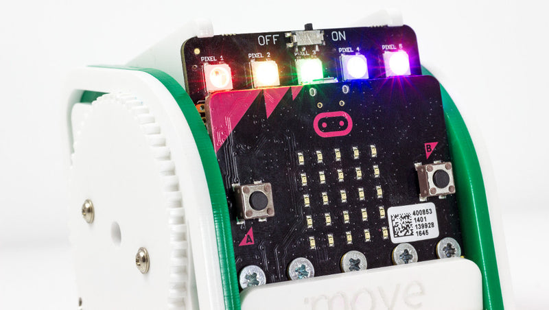 Controlling :MOVE mini With The microbit Radio