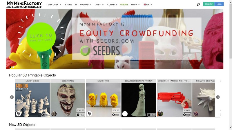 Websites with free 3D Printing models