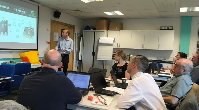 Geoff Hampson In York For microbit CPD