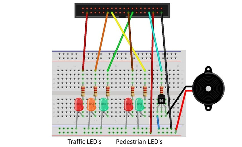 BBC micro:bit Pedestrian Crossing Project featured image