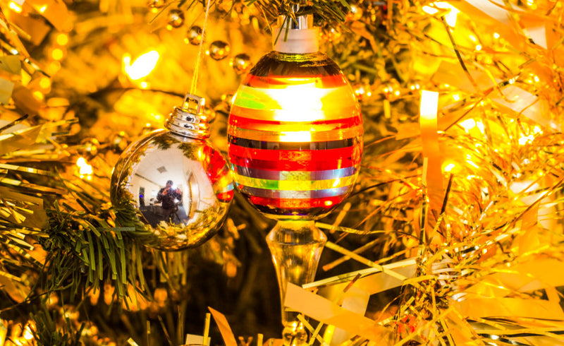 Perspex Christmas Baubles By Ben Wild