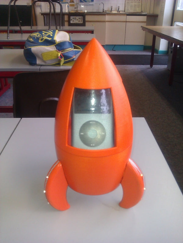 Gallery Rocket Speaker DT Project - George Hirst