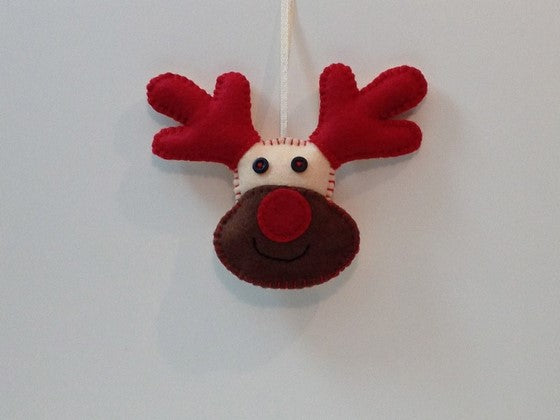 How to Make a Rudolph Christmas Decoration