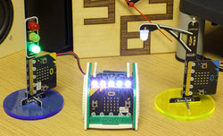 Make A Sturdy Laser Cut Stand For STOP:bit Or LAMP:bit