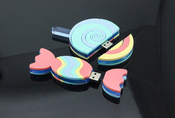 Laser Cut Perspex® Sweet Pastels Memory Stick Cases main image