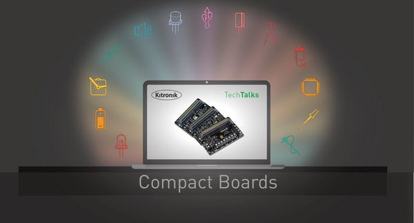 Live Tech Talk - Compact Motor Driver/Robotics boards - Mon 22nd Feb