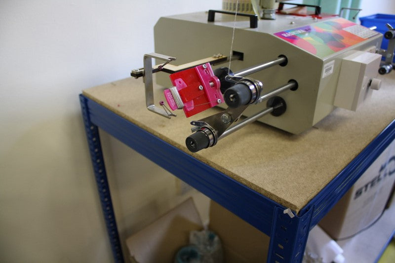 Our Conductive Thread Winding Machine Hack!