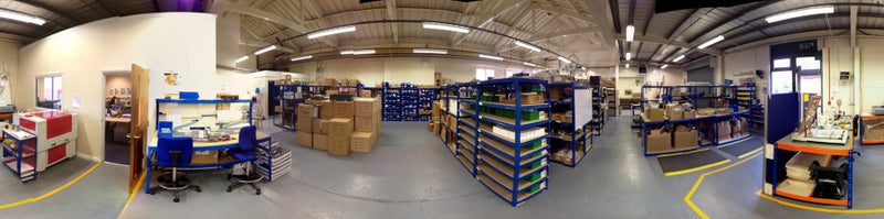 Warehouse Panoramic View