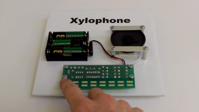 Video Xylophone Project Kit Demo