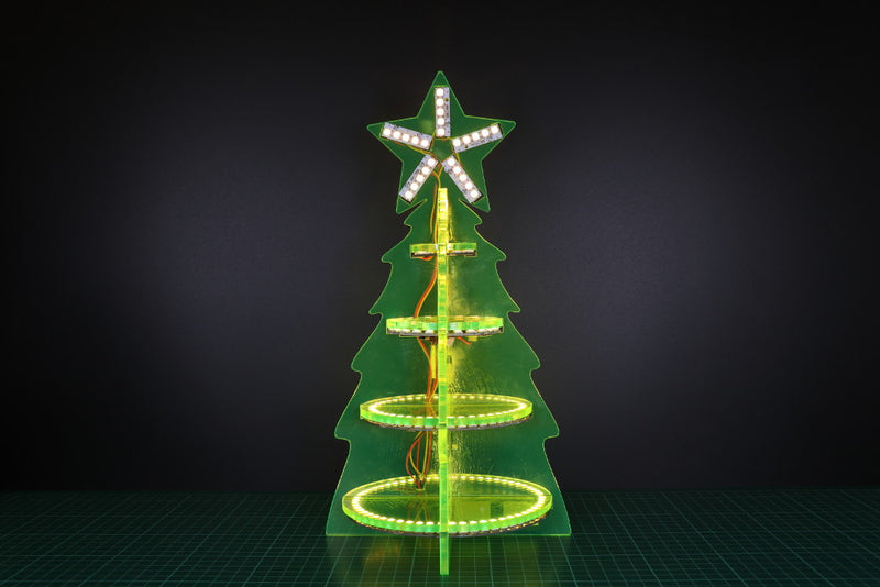 ZIP Halo Christmas Tree